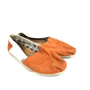 TOMS Texas Longhorns Slip-on Flats Loafers Shoes